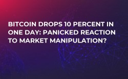 Bitcoin Drops 10 Percent in One Day: Panicked Reaction to Market Manipulation?