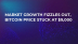 Market Growth Fizzles Out, Bitcoin Price Stuck at $9,000