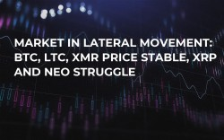 Market in Lateral Movement: BTC, LTC, XMR Price Stable, XRP and NEO Struggle