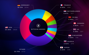 Top Countries by Bitcoin Nodes: US and Germany in the Lead
