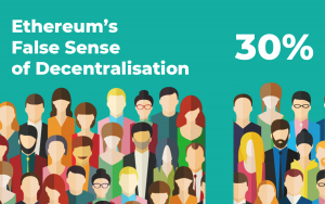 Ethereum's False Sense of Decentralisation: 30% of All Ether Held by 376 People