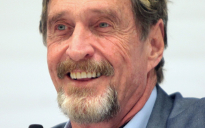John McAfee: $400,000?? Bitcoin Price Must Hit $1 Mln In Two Years!