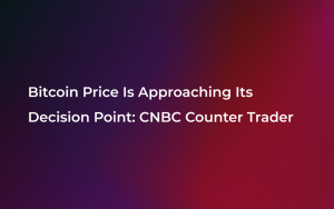Bitcoin Price Is Approaching Its Decision Point: CNBC Counter Trader