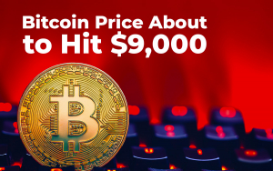 Bitcoin Price About to Hit $9,000, BTC Rises 135% Year-to-Date