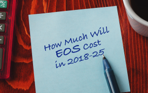 EOS Price Analysis- How Much Might EOS Cost in 2018-25?