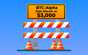 Crypto Exchange BTC-Alpha Sells Bitcoin at $3,000, Technical Issues to Blame