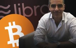 I'm a Big Fan of Bitcoin, Libra's Chief David Marcus Says