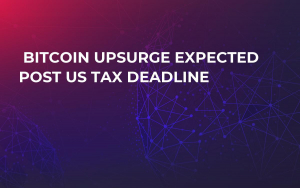 Bitcoin Upsurge Expected Post US Tax Deadline