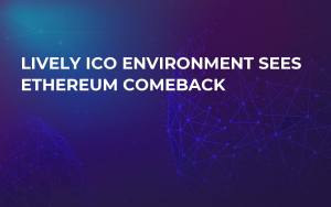 Lively ICO Environment Sees Ethereum Comeback