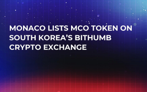 Monaco Lists MCO Token on South Korea's Bithumb Crypto Exchange