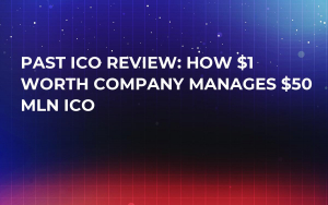 Past ICO Review: How $1 Worth Company Manages $50 Mln ICO