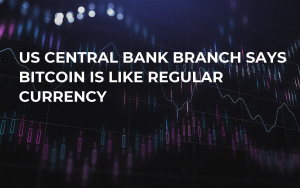 US Central Bank Branch Says Bitcoin is Like Regular Currency