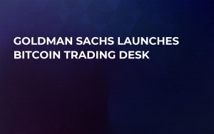 Goldman Sachs Launches Bitcoin Trading Desk