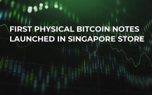 First Physical Bitcoin Notes Launched in Singapore Store
