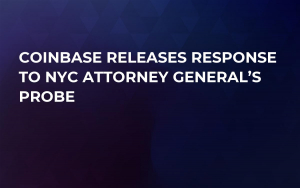 Coinbase Releases Response to NYC Attorney General's Probe