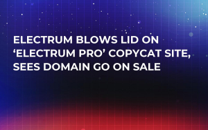 Electrum Blows Lid on 'Electrum Pro' Copycat Site, Sees Domain go on Sale