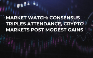 Market Watch: Consensus Triples Attendance, Crypto Markets Post Modest Gains