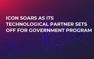 ICON Soars As Its Technological Partner Sets Off For Government Program