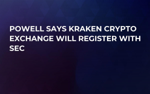 Powell Says Kraken Crypto Exchange Will Register with SEC