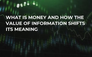 What is Money and How the Value of Information Shifts Its Meaning