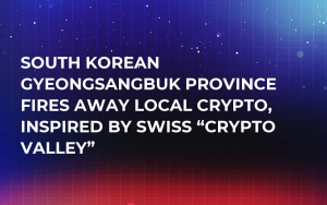 """South Korean Gyeongsangbuk Province Fires Away Local Crypto, Inspired by Swiss """"Crypto Valley"""""""