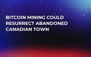 Bitcoin Mining Could Resurrect Abandoned Canadian Town