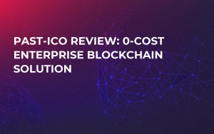 Past-ICO Review: 0-Cost Enterprise Blockchain Solution