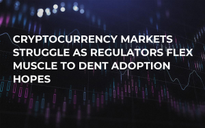 Cryptocurrency Markets Struggle as Regulators Flex Muscle to Dent Adoption Hopes
