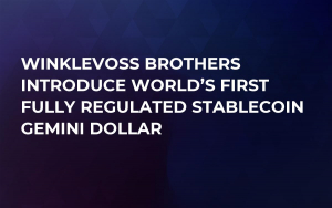 Winklevoss Brothers Introduce World's First Fully Regulated Stablecoin Gemini Dollar