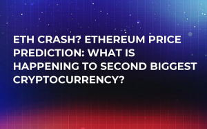 ETH Crash? Ethereum Price Prediction: What Is Happening to Second Biggest Cryptocurrency?