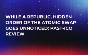 While a Republic, Hidden Order of the Atomic Swap Goes Unnoticed: Past-ICO Review