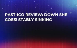 Past-ICO Review: Down She Goes! Stably Sinking