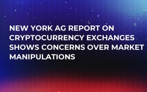 New York AG Report on Cryptocurrency Exchanges Shows Concerns Over Market Manipulations