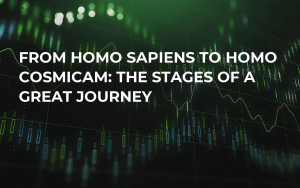 From Homo sapiens to Homo cosmicam: the stages of a great journey