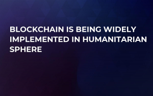 Blockchain Is Being Widely Implemented In Humanitarian Sphere