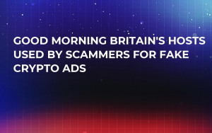 Good Morning Britain's Hosts Used By Scammers For Fake Crypto Ads
