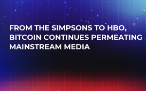 From The Simpsons to HBO, Bitcoin Continues Permeating Mainstream Media