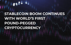 Stablecoin Boom Continues With World's First Pound-Pegged Cryptocurrency
