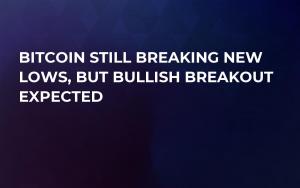Bitcoin Still Breaking New Lows, But Bullish Breakout Expected