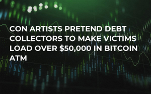 Con Artists Pretend Debt Collectors to Make Victims Load Over $50,000 in Bitcoin ATM