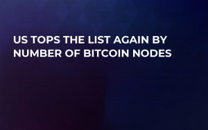 US Tops the List Again by Number of Bitcoin Nodes