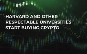 Harvard and Other Respectable Universities Start Buying Crypto