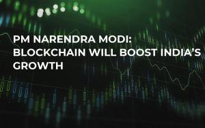 PM Narendra Modi: Blockchain Will Boost India's Growth