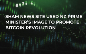Sham News Site Used NZ Prime Minister's Image to Promote Bitcoin Revolution