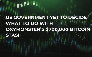 US Government Yet to Decide What to Do with OxyMonster's $700,000 Bitcoin Stash