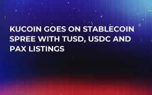 KuCoin Goes on Stablecoin Spree With TUSD, USDC and PAX Listings