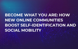 Become What You Are: How New Online Communities Boost Self-Identification and Social Mobility