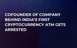 Cofounder of Company Behind India's First Cryptocurrency ATM Gets Arrested