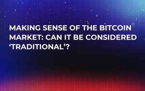 Making Sense of the Bitcoin Market: Can it be Considered 'Traditional'?