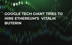 Google Tech Giant Tries to Hire Ethereum's  Vitalik Buterin